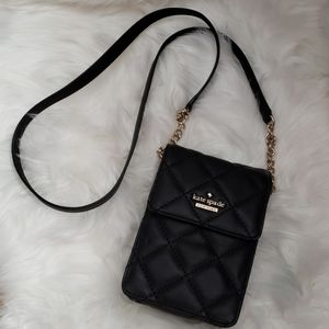NWT Kate Spade Black Emerson Place Janele Bag